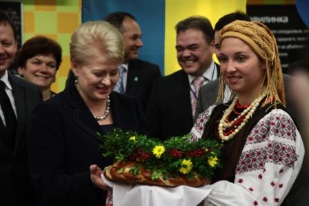 Первый Украино-литовский фестиваль сыров